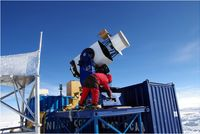 Extreme astronomy:  New telescope on high in Antarctica