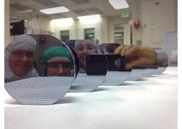 Fab Team Scales Up Production of Dark Matter Detectors