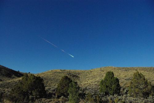 Fireball over california/Nevada: how big was it?