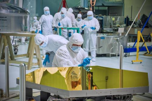 First 2 Webb Telescope flight mirrors delivered to NASA