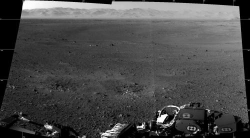 First 360-degree panorama from Curiosity Mars rover