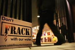 Fracking is a process that injects millions of gallons of chemical mixed water into a well in order to release gas