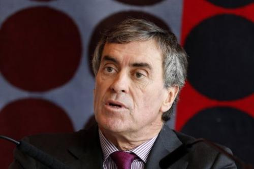 French Junior Minister for Budget, Jerome Cahuzac speaks during a press conference on tax evasion