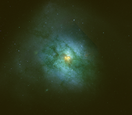 Galaxy harbors many star-snacking black holes