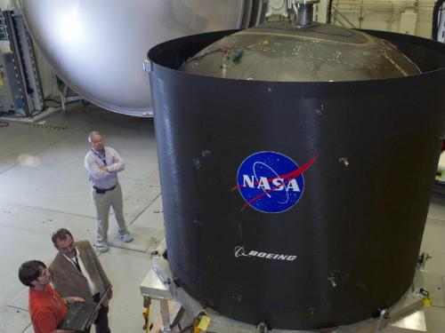 Game-Changing Propellant Tank Arrives at Marshall