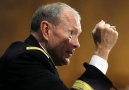General Martin Dempsey, chairman of the Joint Chiefs of Staff