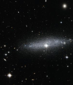 Glitter galaxy