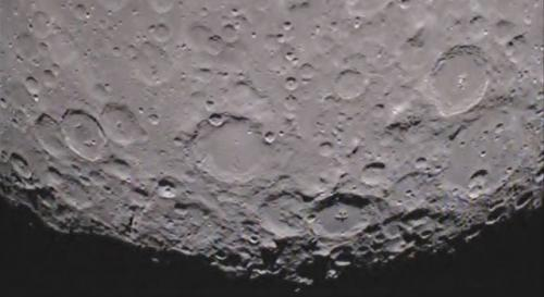 GRAIL returns first video from moon's far side