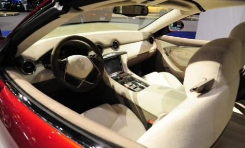 Karma hybrid car offers earth-friendly luxury