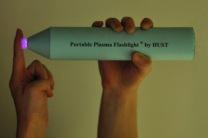 Ручной плазменный фонарик успешно убивает бактерии