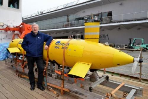 High-tech vehicles are being used to probe the seabed up to 7,000 metres deep to measure the effects of the 2011 quake