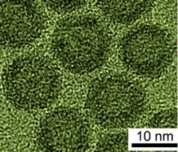 Hollow iron oxide nanoparticles for lithium-ion battery applications