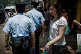 Hong Kong said officers will start to wear small cameras by the end of the year
