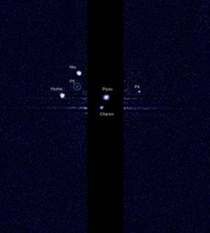 Hubble discovers new Pluto moon