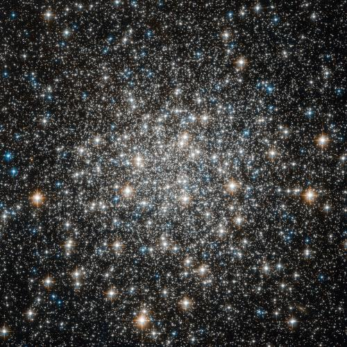 Hubble views the globular cluster M10
