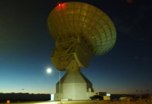 Huge new ESA tracking station is ready for duty