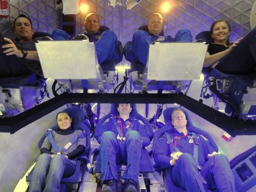Image: Dragon's crew accommodations
