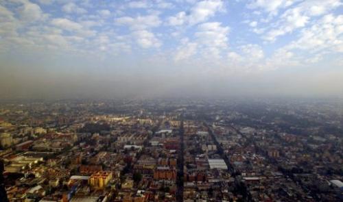 Improvement in air quality in Mexico City started in the 1980s