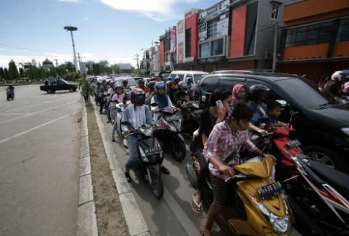 Indonesia launched a $130-million tsunami warning system in 2008 in a bid to prevent a repeat of the 2004 disaster