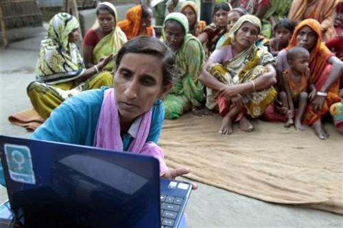 Internet rolls into Bangladesh villages on a bike