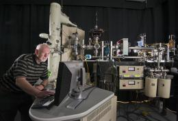 Sandia's Ion Beam Laboratory looks at advanced materials for reactors