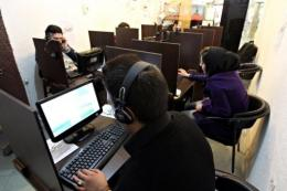 Iran has further restricted access to the Internet and blocked popular email services, media reports said