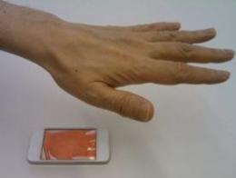 Japanese partnership results in palm recognition security for smartphones