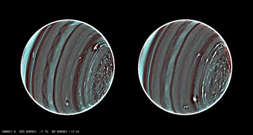 Keck observations bring weather of Uranus into sharp focus