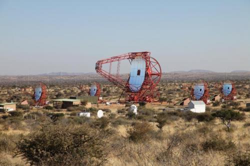 Largest ever Cherenkov telescope sees first light