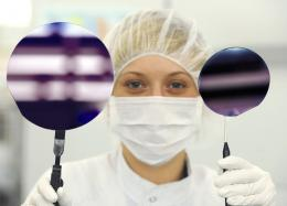 LEDs on silicon can reduce production costs