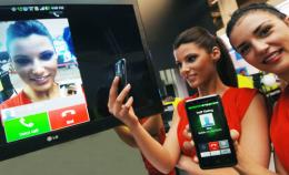 LG demonstrated world's first voice-to-video conversion over lte network at mwc 2012