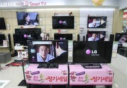 LG Electronics returns to profit on mobiles, TVs (AP)