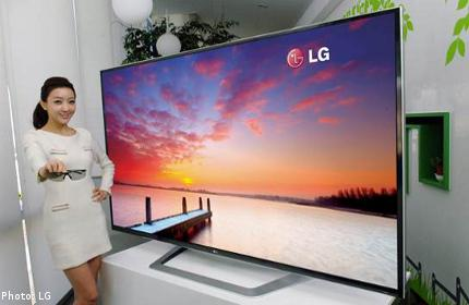 LG presents large-screen cinema 3D Smart TV line-up optimized for cinema 3D experience