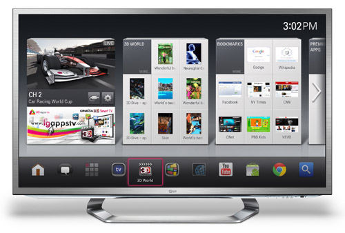LG to introduce Google TV at CES 2012