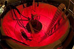 Looking for dark matter a mile underground