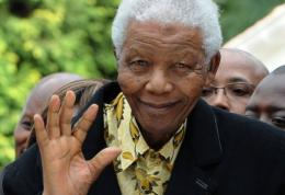 Mandela, pictured in 2009, has been discharged from hospital