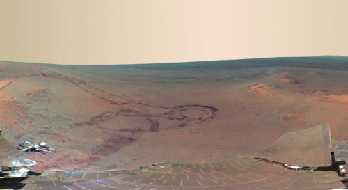 Mars panorama: Next best thing to being there