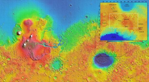 Exhumed rocks reveal Mars water ran deep