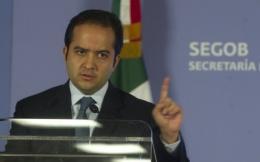 Mexico's interior minister Alejandro Poire