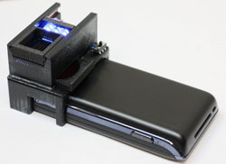 Mobile phone scanner detects harmful bacteria