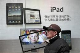 More Chinese cities seize iPads over trademark (AP)