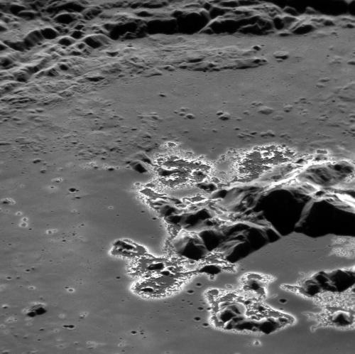 "More ""hollowed ground"" on Mercury"