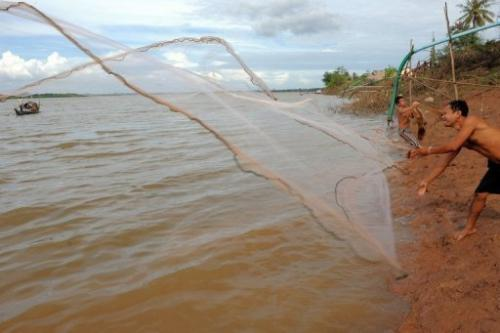 More than 60 million people depend on the Mekong River for transportation, food and commerce