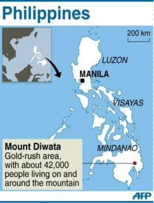 Mount Diwata in the Philippines