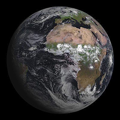 MSG-3, Europe's latest weather satellite, delivers first image