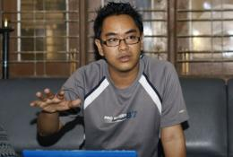 Myanmar blogger Nay Phone Latt