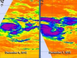 NASA casts infrared eye on Southern Indian Ocean's Tropical Cyclone Claudia