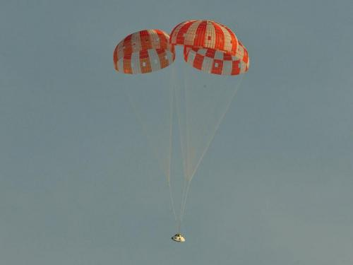 Nasa conducts new parachute test for Orion
