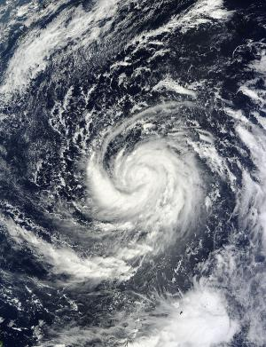 NASA eyes Typhoon Prapiroon intensifying