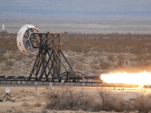 NASA fires up rocket sled hardware at China Lake